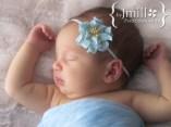 Newborn portrait in natural light