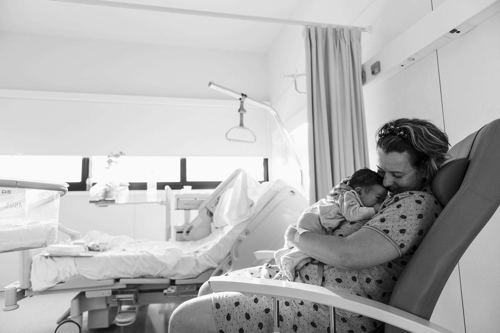 Sesión newborn en el hospital