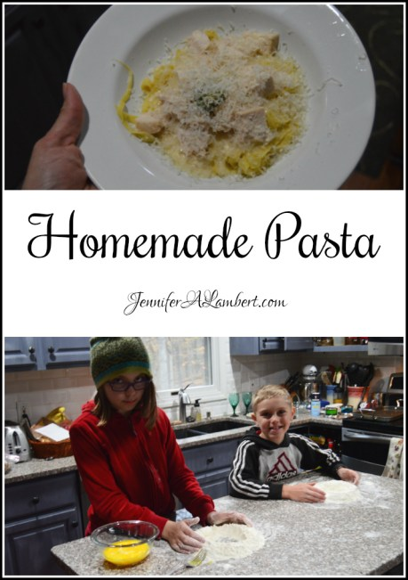 Homemade Pasta by Jennifer Lambert