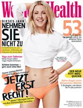 Women's Health Deutschland December 2015 Cover