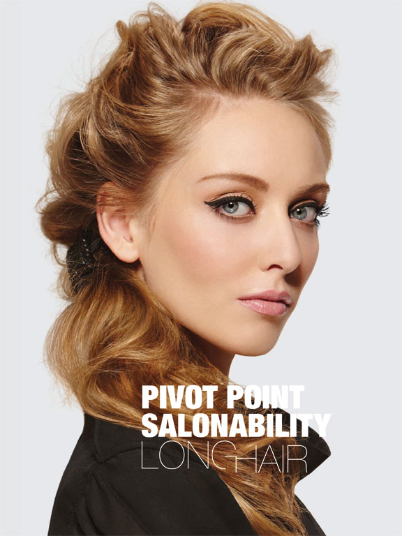 Pivot Point Salonability Long Hair Book Cover