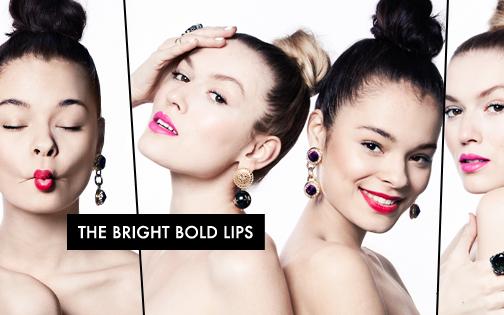 The Bright Bold Lips