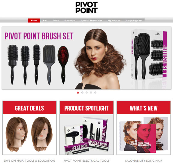 Pivot Point Shop Homepage