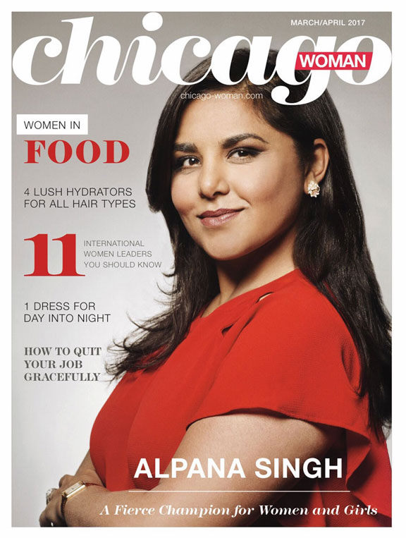 Chicago Woman Cover