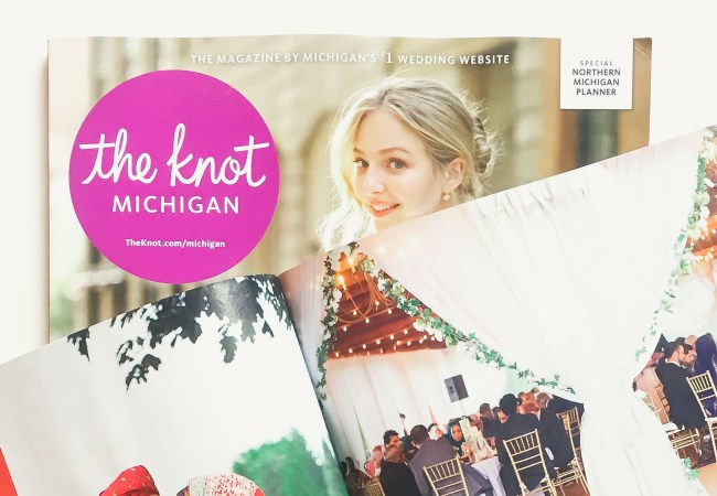 Featured in The Knot magazine!