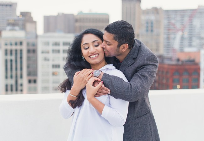 Detroit Marriage Proposal Photographer | Renny & Nita