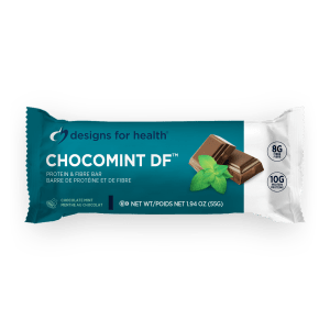 ChocoMint DF Protein & Fibre Bar