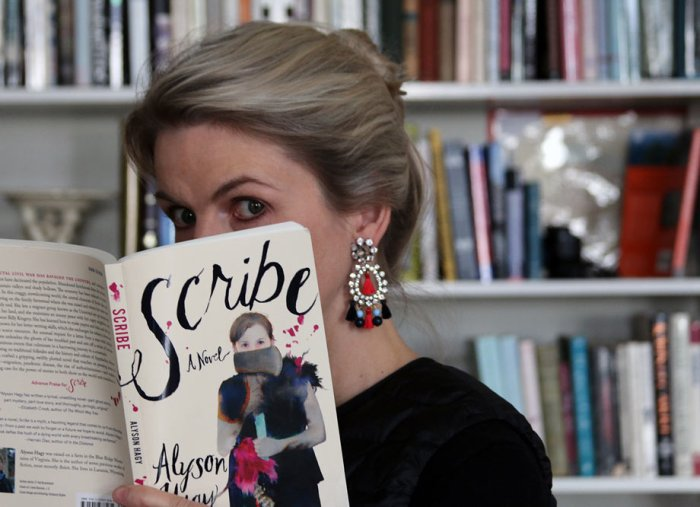 My Bookshelf: SCRIBE by Alyson Hagy