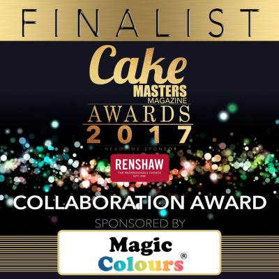 Cake Masters Award Cake Con Collaboration