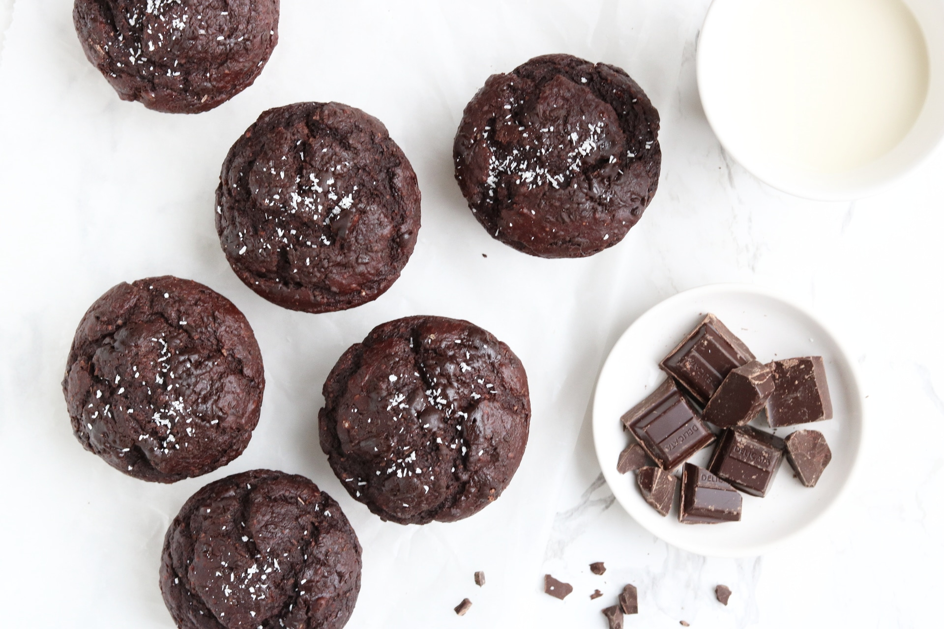 HEALTHY CHOCOLADE MUFFINS