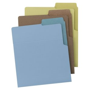 Upright file folder from Smead
