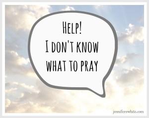 what do i pray?
