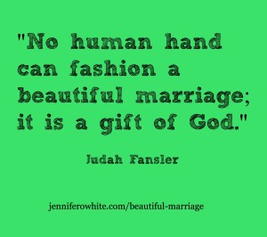 a beautiful marriage is from God