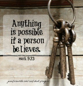 mark 9:23 with God all things are possible