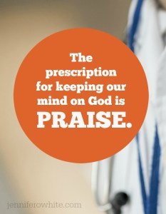 praise God during mental illness