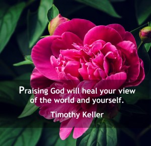 choose to praise God. choose to heal.