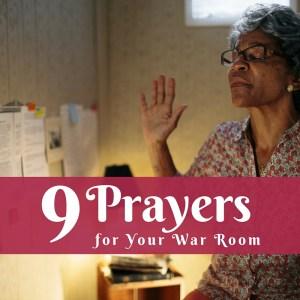 war room prayers