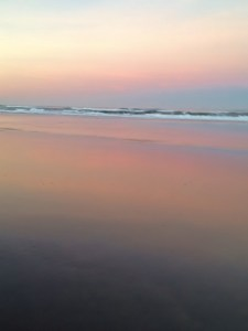 Reflections at Sunrise, Oregon Coast
