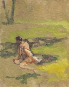 Day Three - Figure on Grass