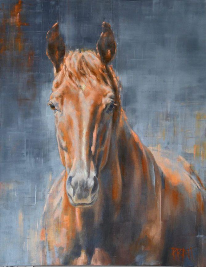 equine art, broodmare, sport horse, Jennifer Pratt