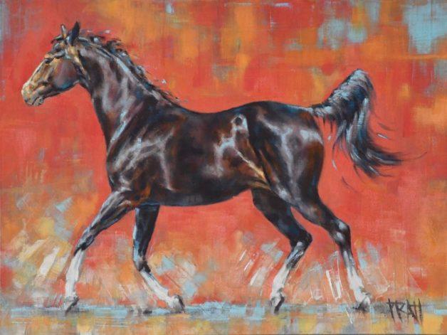 Jennifer Pratt, Equine Art, horse painting