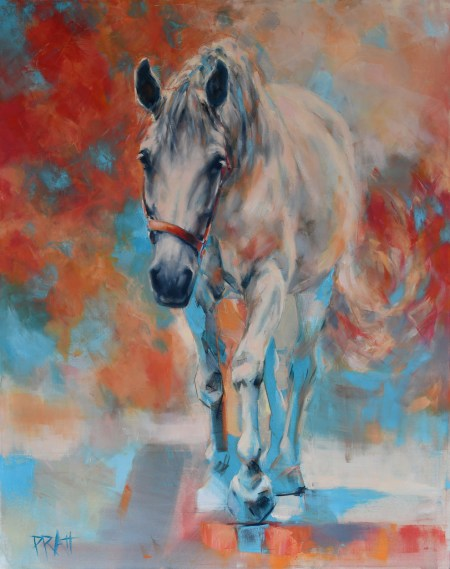 ©jenniferpratt, equine art, equine decor, emerge series
