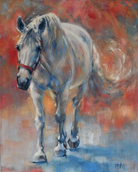 ©Jennifer Pratt, equine art, horse art, equestrian decor