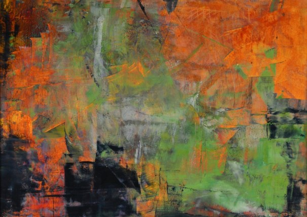 cold wax, abstract art,