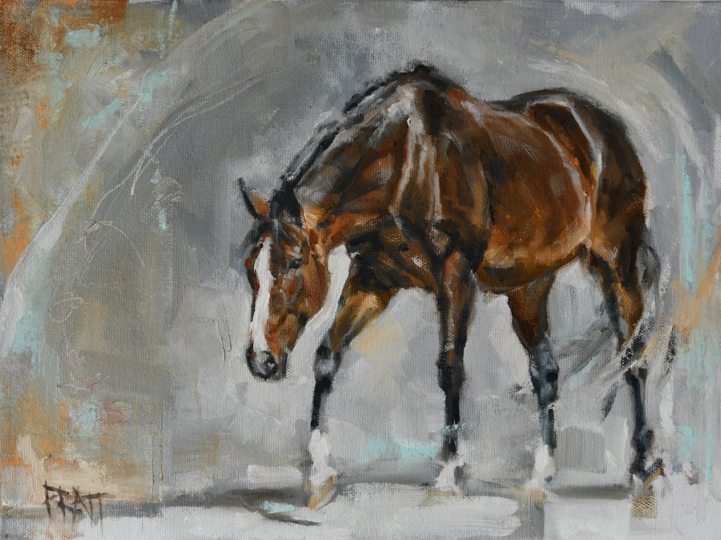 Oil-Painting-Horse-Equine