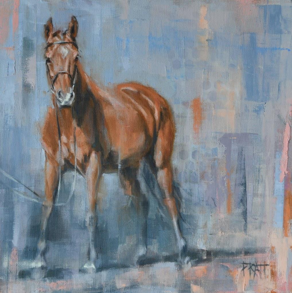 equine art, horse painting