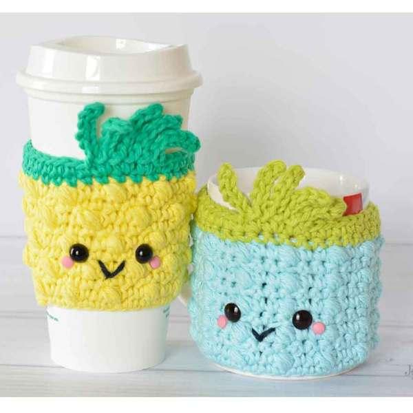 Pineapple Crochet Cozies