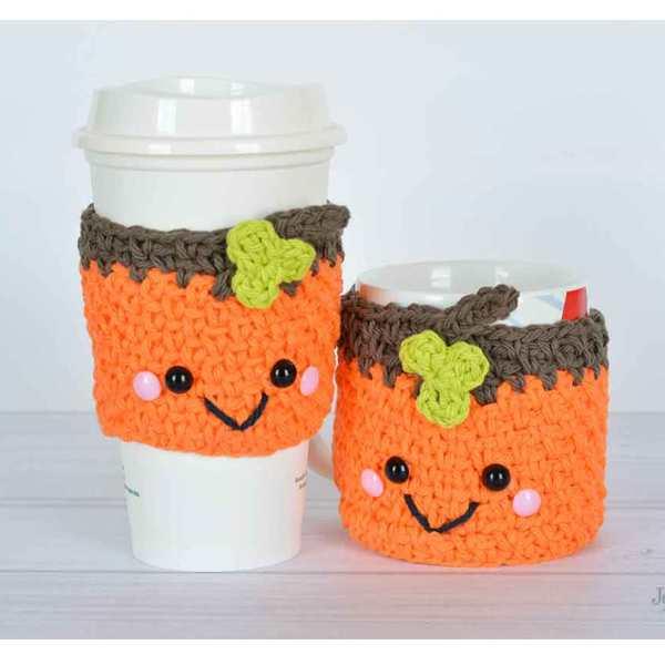 Halloween Pumpkin Cozies