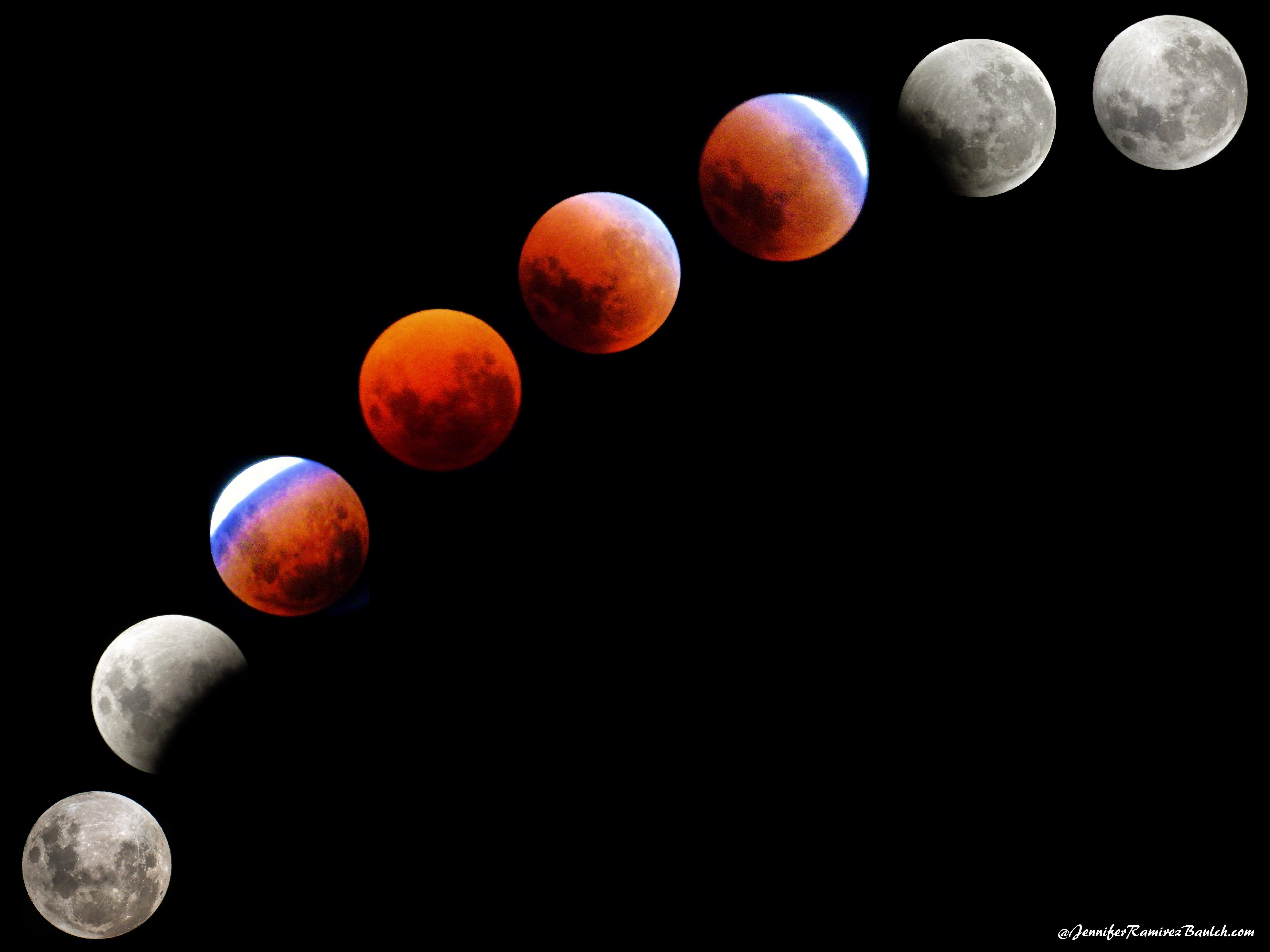 Trifecta Lunar Eclipse Super Blue Blood Moon 2018