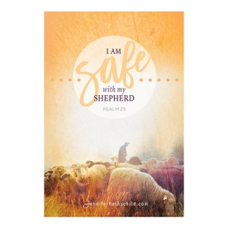 Safe with My Shepherd Cards