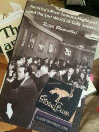 STORK CLUB by Ralph Blumenthal