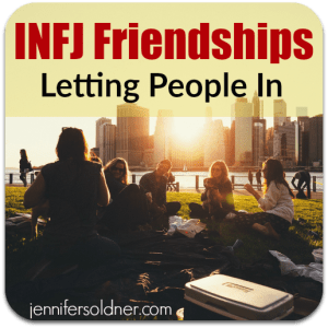 INFJ Letting People In