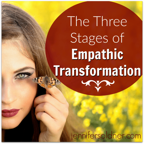 Three Stages of Empathic Transformation