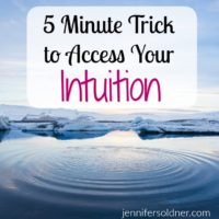 5 Minute Trick to Access Your Intuition