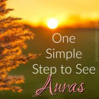 One Simple Step to See Auras