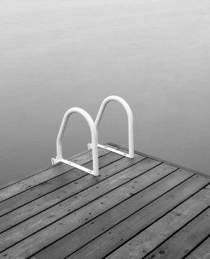 Black and White Art Prints - Grandview Lake #1