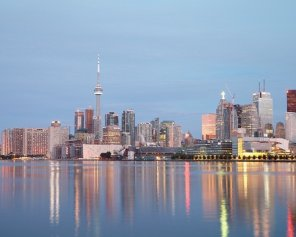 Toronto at Dawn - Urban Photography
