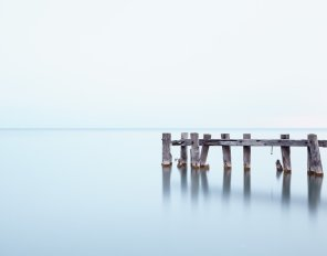 Mystic Port - Hamilton Beach Landscape Photograph