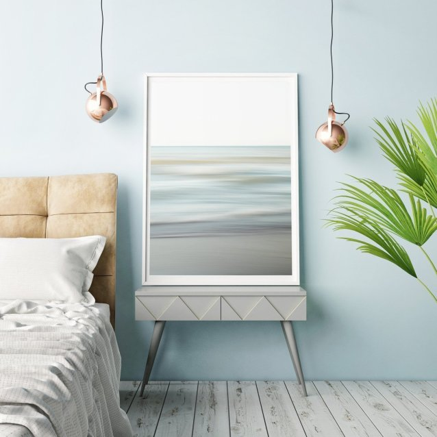 Modern Beach Decor - Spring Shore - Relaxing Wall Art for your Coastal Cottage