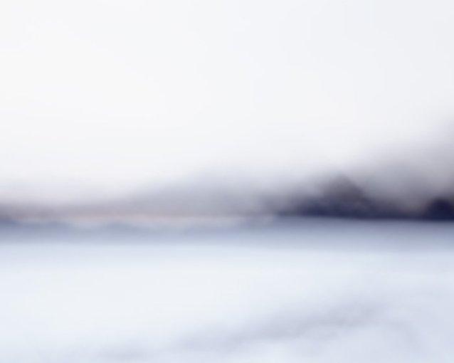Abstract Landscape Art - Indigo Escape