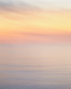Large Sunset Beach Decor - Swept to Fairyland - Abstract Photograph