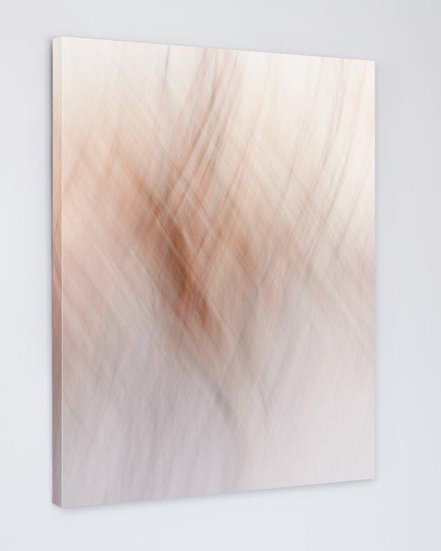 Abstract Yoga Art Print - Sun Salutation - Canvas