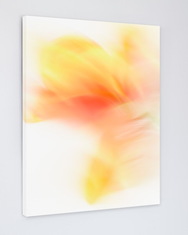 Chelsea - Yellow Abstract Art Canvas