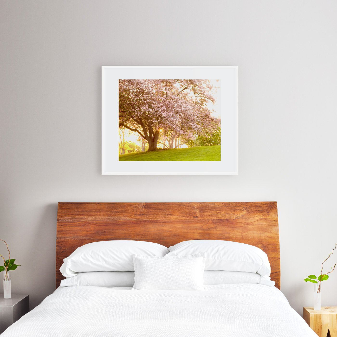 Best Art Size For Above A Queen Bed