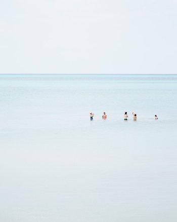 Pinery Beach Family Swim - Beach Scenes