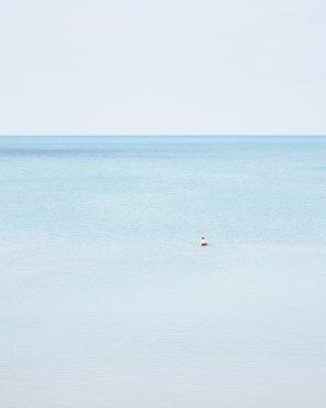 Woman Swimming, Pinery - Coastal Fine Art Print